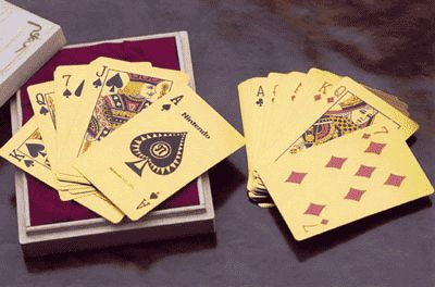 Solid Gold Playing Cards-$5,167