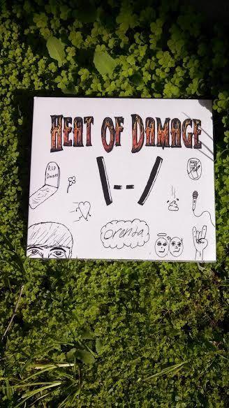 Orenda EP by Heat Of Damage by Osewcraftyme on Etsy, $5.00
