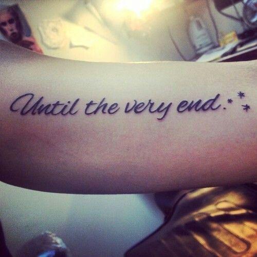 Until The Very End Hp Tatt Harry Potter Tattoos Tattoos Sock Tattoo