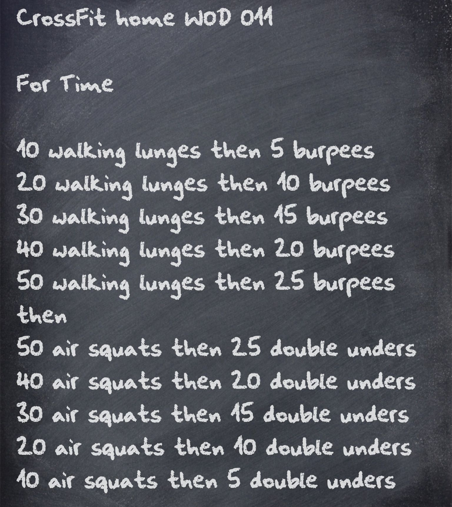 CrossFit home WOD Written by RY (These are a lot easier to Pin than they are to actually DO) ;-)