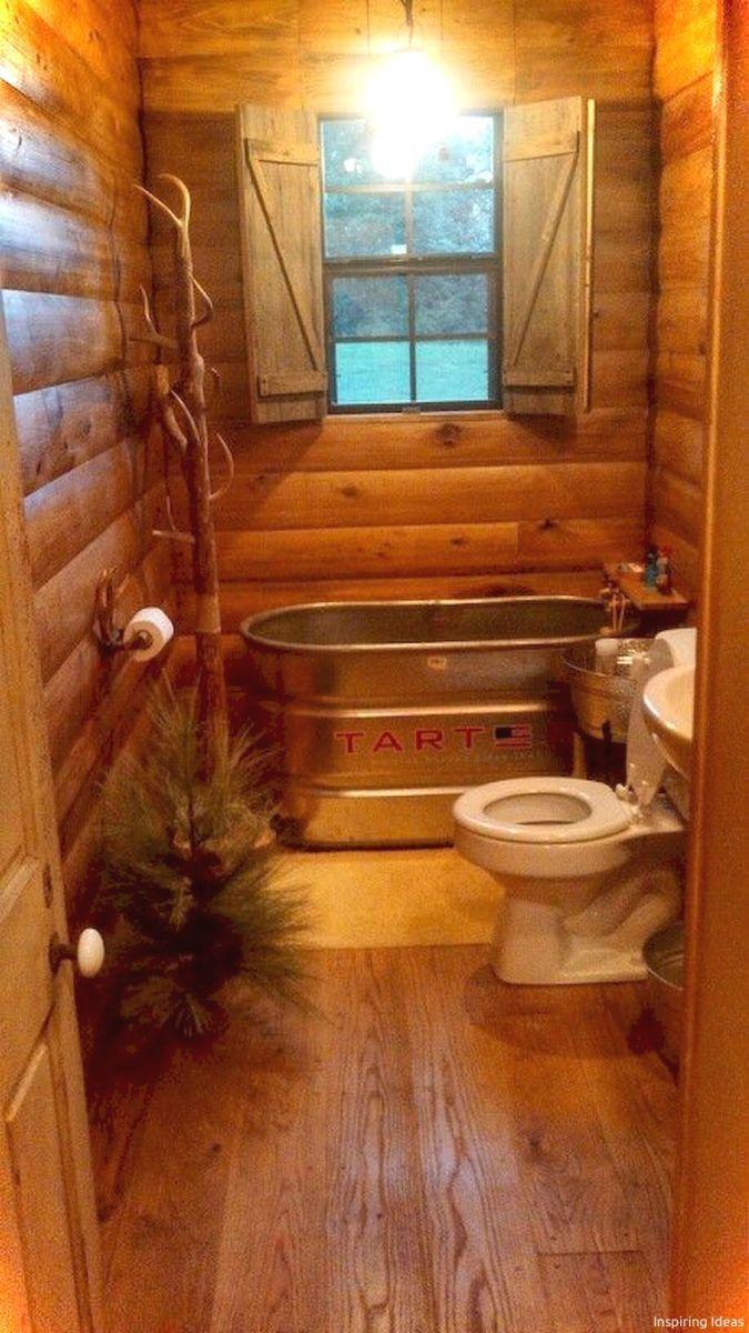 Incredible Tiny House Interior Design Ideas11 Rustic Bathrooms Cabin Interior Design Log Cabin Interior Cabin bathroom decorating ideas