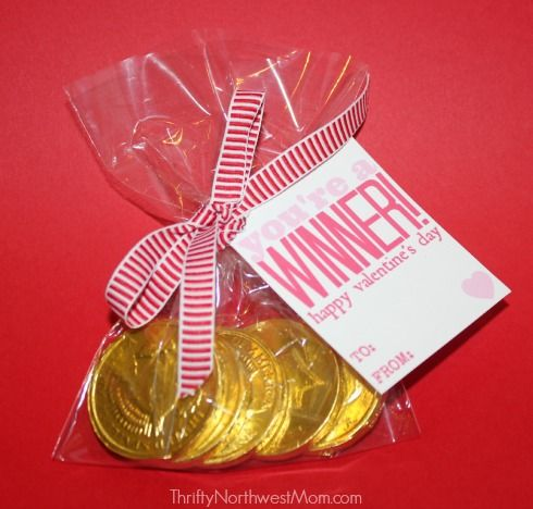 Free Printable Valentine Cards Youre a Winner for Kids or – Buy Valentine Cards