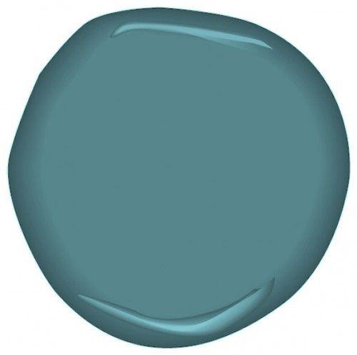 Benjamin Moore Baltic Sea Csp 680 Color Scheme Paint