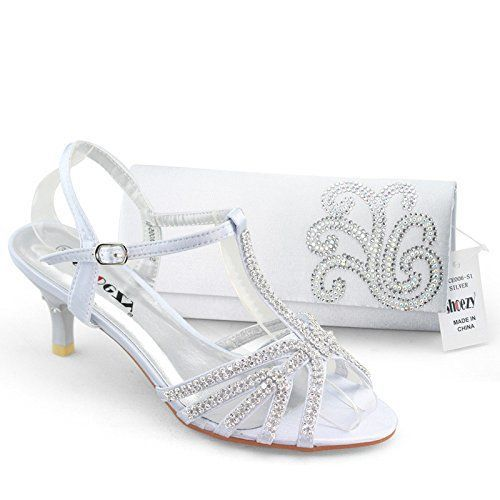 40 Low Heel Silver Wedding Shoes For Your Stunning Style