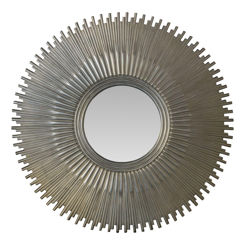 Starburst Frame Circular Mirror