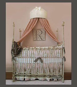 Baby bed crowns are too cute! & Bedrooms Just for Girls - Better Homes and Gardens | ? bed crown ...