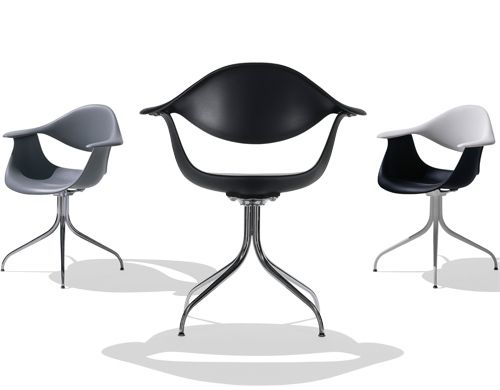 George Nelson Swag Leg Chair Chair George Nelson Swag