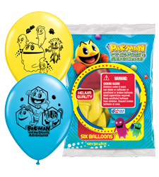 12 inch pac man ghostly adventure balloons pinterest pac man