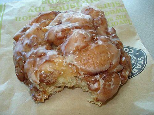 Starbucks Apple Fritter Sweets Random Apple Fritters
