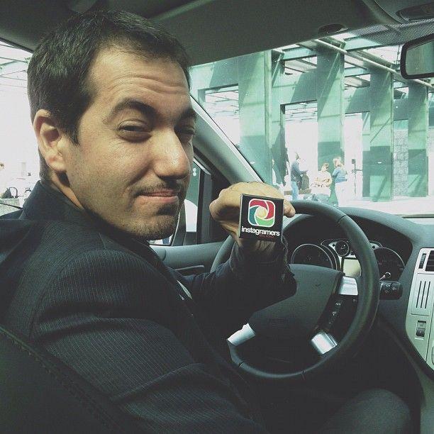@oraziospoto del team milanese è alla guida della Ford Kuga. Grazie @forditalia