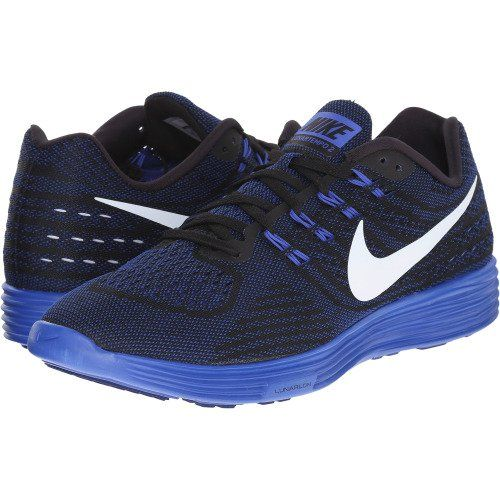 nike lunartempo navy blue running shoes
