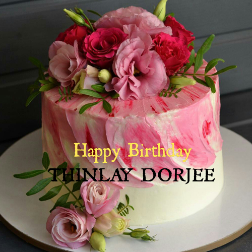 Write Name On Beautiful Rose Flower Birthday Cake Happy Birthday Cakes Birthday Cake Writing Birthday Cake With Flowers