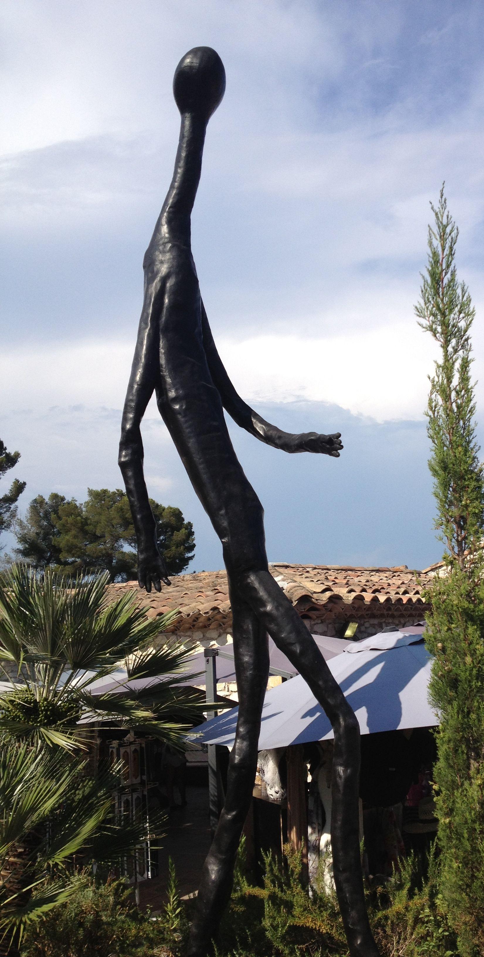 L'homme qui marche, Saint Paul de Vence