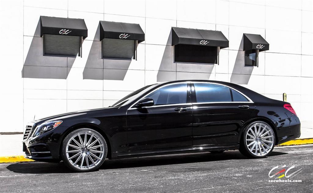 Mercedes Benz S550 With Custom Wheels Cec Los Angeles Ca Us 236020 Mercedes Benz S550 Custom Mercedes Benz Custom Wheels