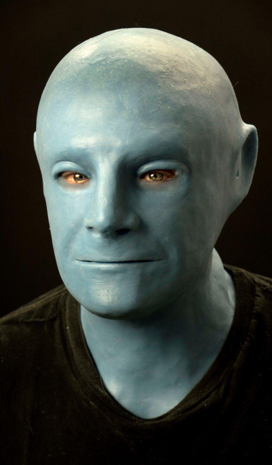 "Silicone Mask ""Fantomas"" Hand Made, Halloween High Quality"