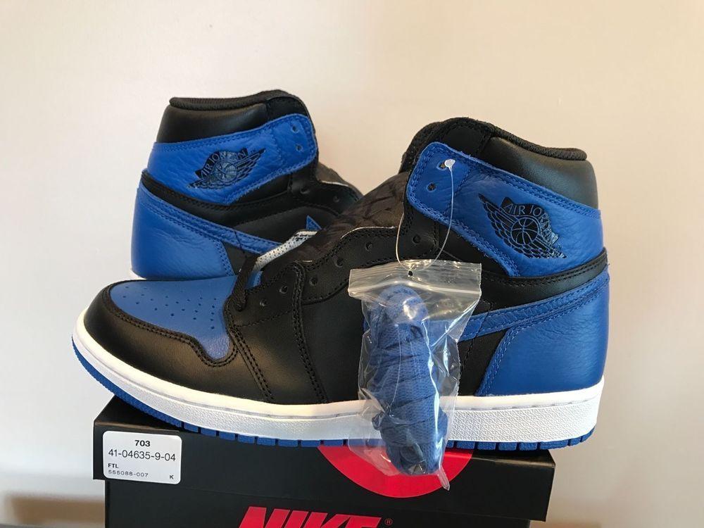 Nike Air Jordan 1 ROYAL Blue High Retro OG 2017 555088007