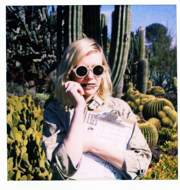 Kirsten Dunst / Boy / By Band Of Outsiders Spring 2011Lookbook