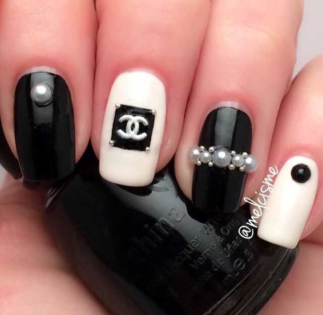 CHANEL NAILS. | CHANEL | Pinterest | Chanel nails, Beauty nails and ...