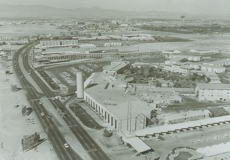 Las Vegas Strip 1965  Vintage America  Pinterest  Las vegas