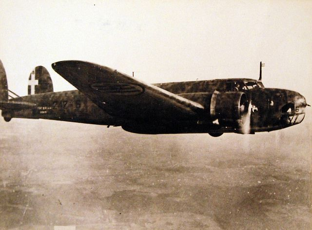Italian bomber, Fiat BR 50, May 1943. Official U.S. Navy Photograph, now in the collections of the National Archives.