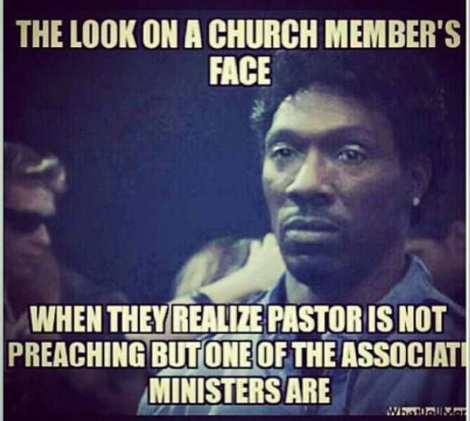 What yall know about that Alfred St. Baptist church life...I'm just saying....