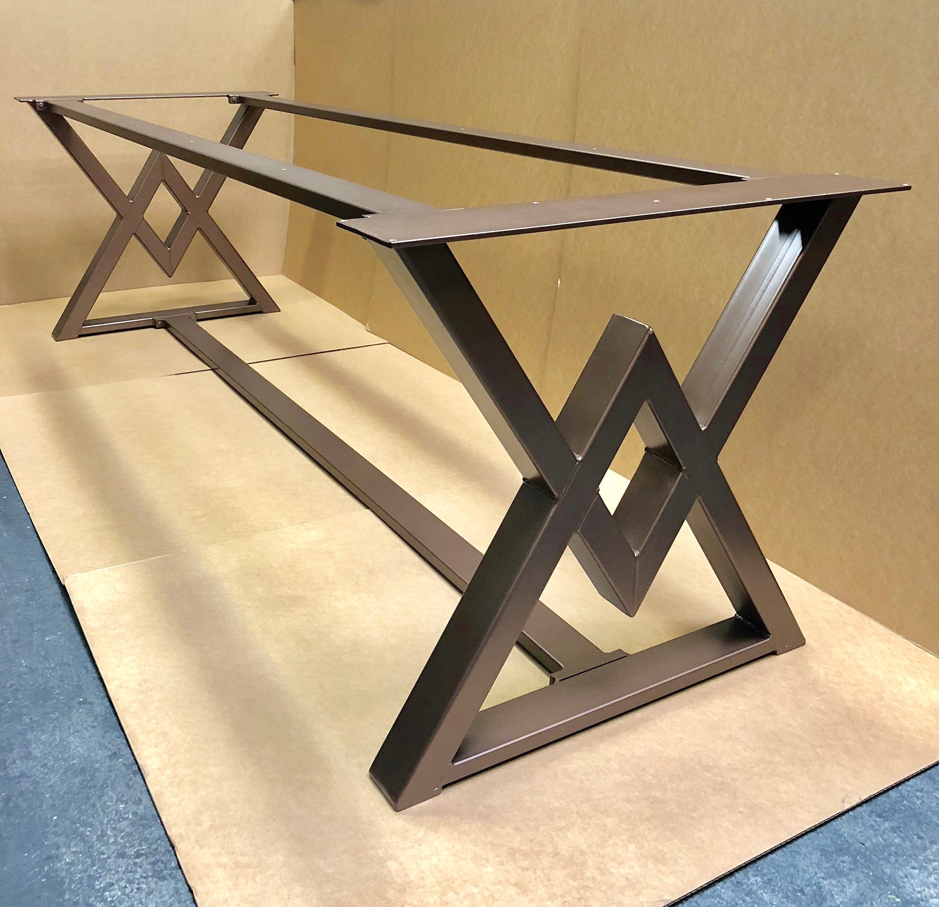 The Diamond Dining Table Base, Industrial Base, Sturdy Heavy Duty Dining Table Base #menus