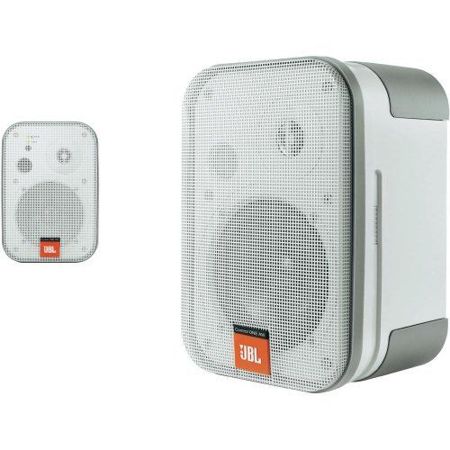 Jbl Control One All Weather Control Monitor Pair White By Jbl 199 00 With A Compact Two Way Design In The Jbl Professional Traditi Loudspeaker Design Electronics