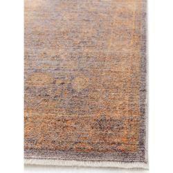 Photo of Teppiche  benuta Naturals Viskose Teppich Yuma gelb / lila 70×300 cm – Vintag…