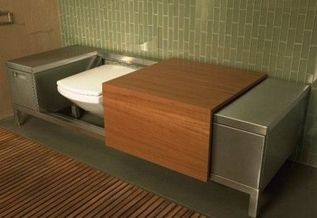 Bench Toilet: A toilet in disguise! | Hometone | Bathrooms ...
