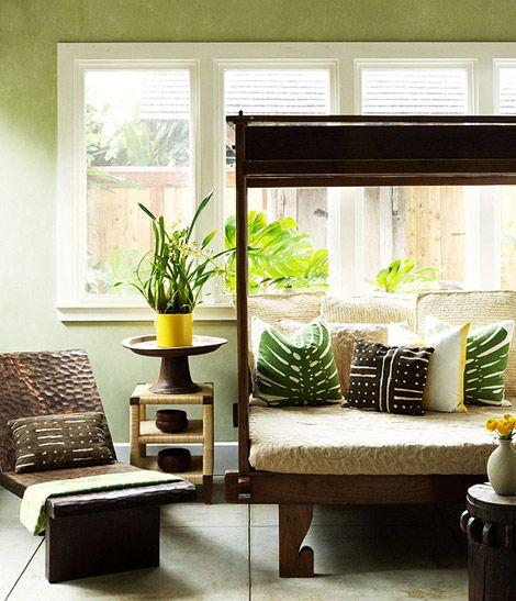 Hawaiian Home Design Ideas: Hawaiian Bedroom, Home Decor