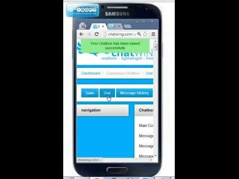 How To Setup Yahoo Mobile Chat Android App on chatWING for