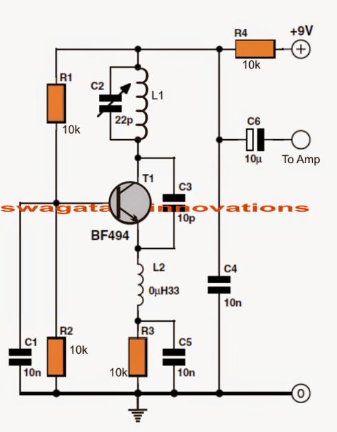 Simple FM Radio   electro   Pinterest   Radios, Circuits and Tech