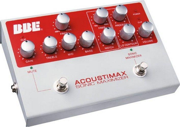 Bbe Acoustimax Sonic Maximizer Acoustic Guitar Preamp Pedal Samash Acoustic Instrument Guitar Pedals Best Acoustic Guitar