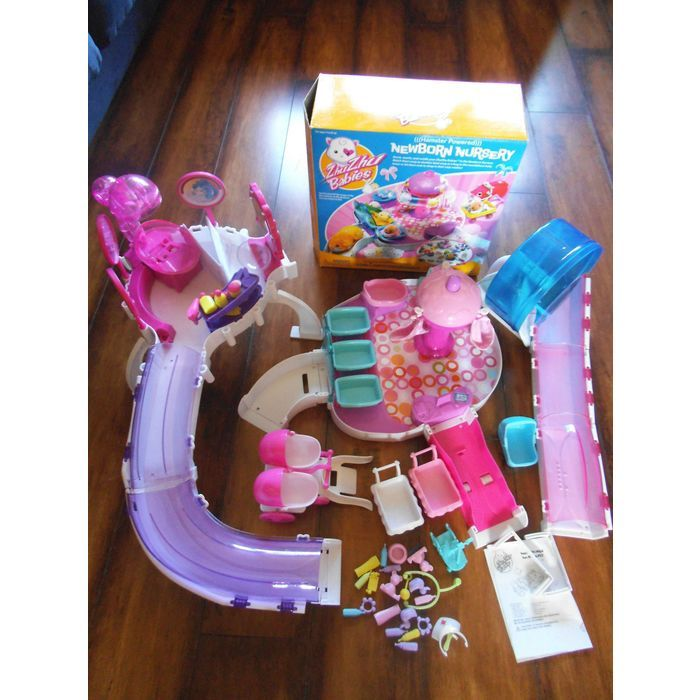 Bundle Of Zhu Zhu Pets Hair Saloon Baby Newborn Nursery Wheel Complete Plus Bits On Ebid United Kingdom 144309571 Newborn Nursery Newborn Baby Newborn