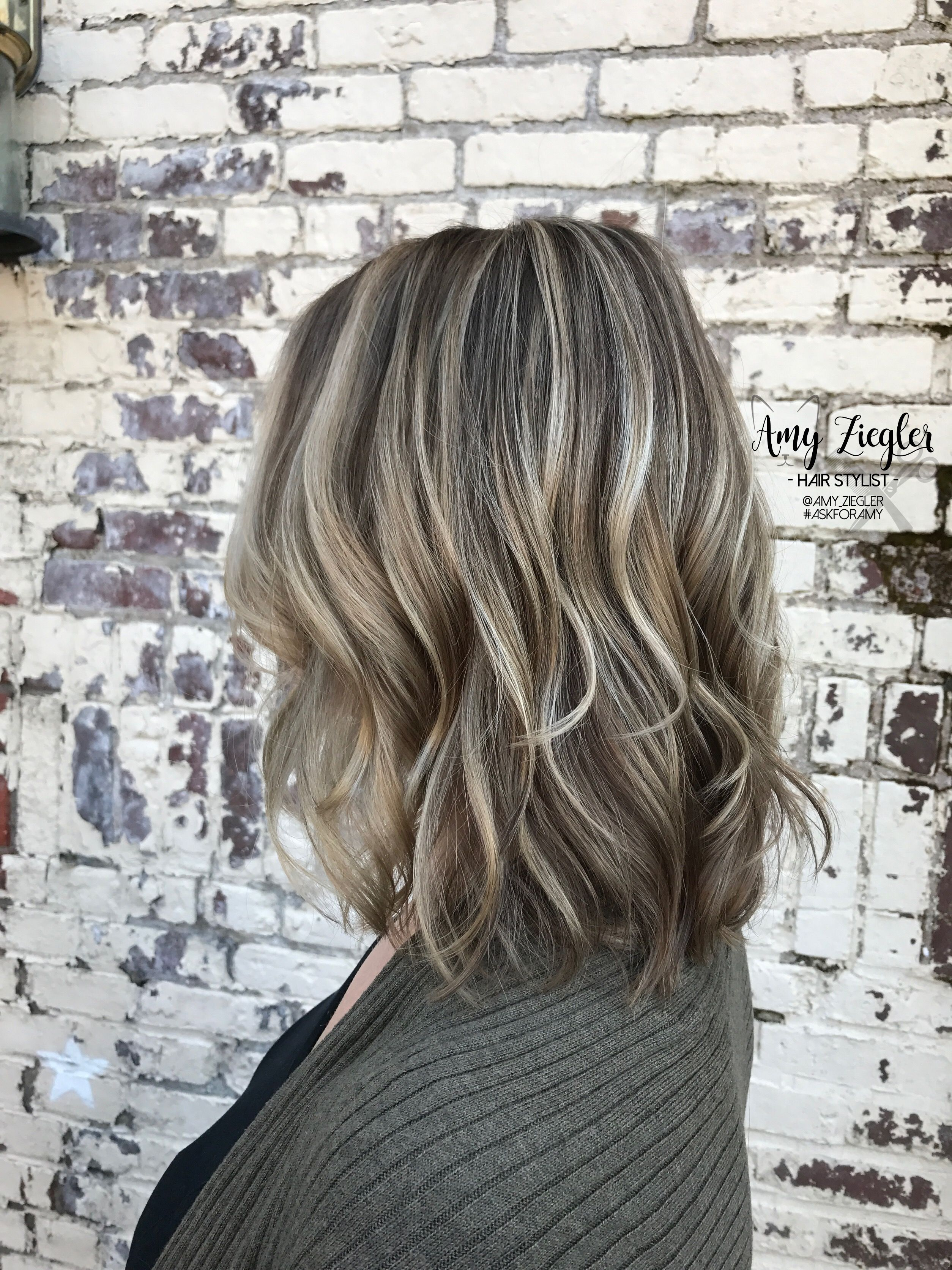 Ash Blonde Highlight Lowlight By Askforamy Ash Blonde