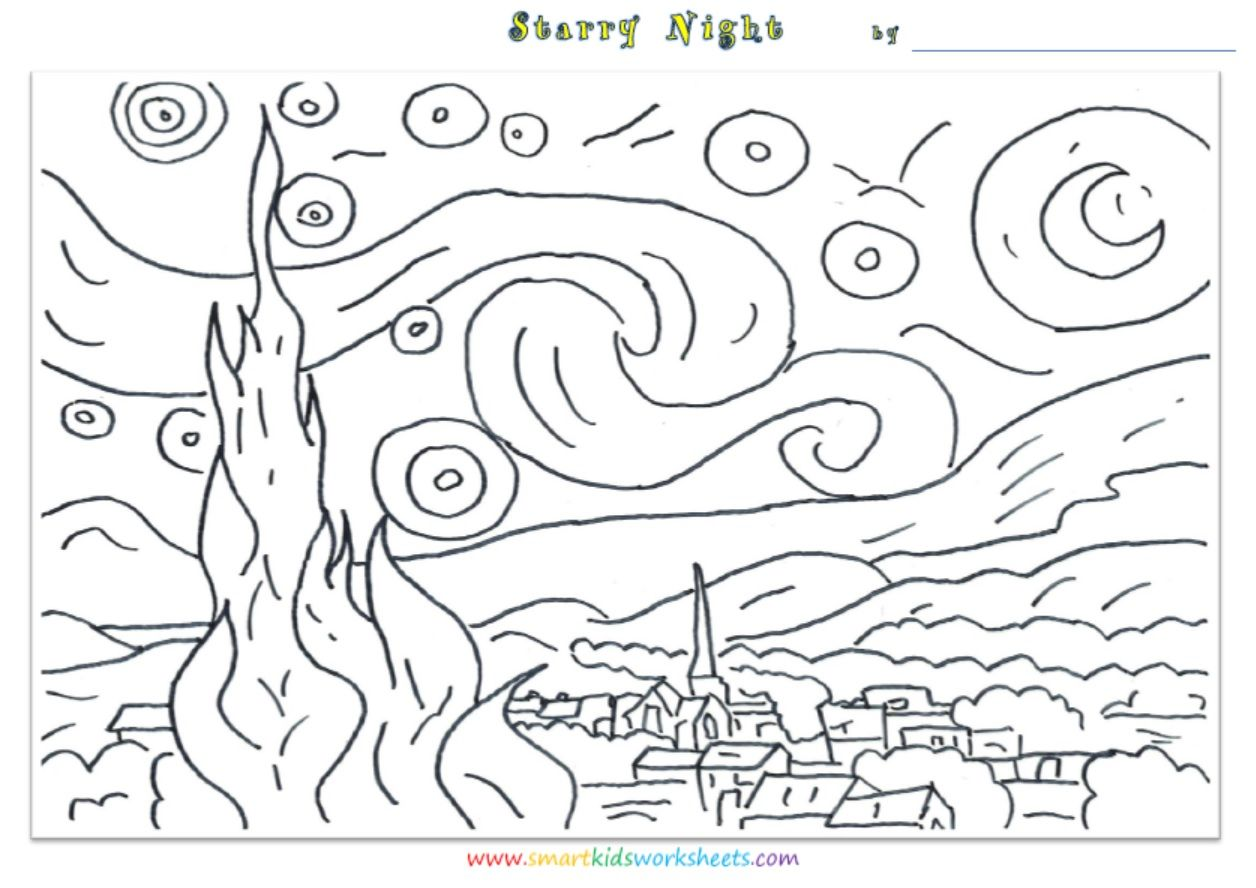 Starry Starry Night For Kids - Saferbrowser Yahoo Image ...