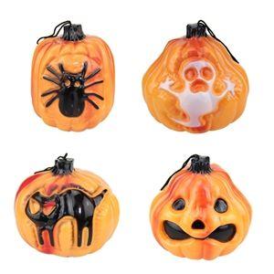 Led Kurbis Laterne Halloween Deko Halloween Supplies Pumpkin Lights Spider Light