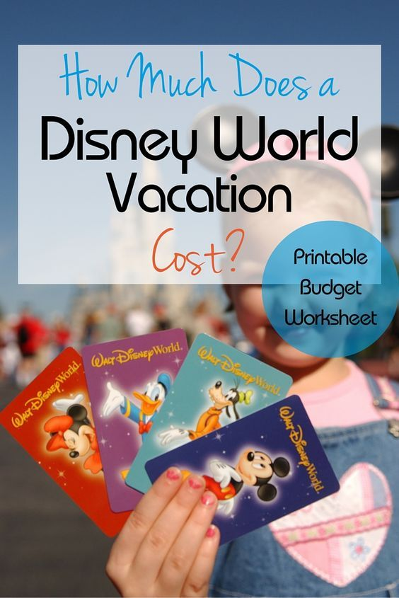 How Much Does it REALLY Cost to Go to Disney World ...