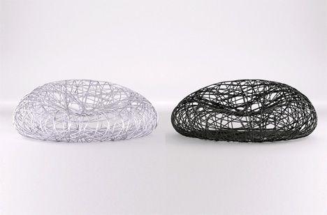 The Birdu0027s Nest Chair  X_Lounger Weaving and Architecture - designer mobel timothy schreiber stil