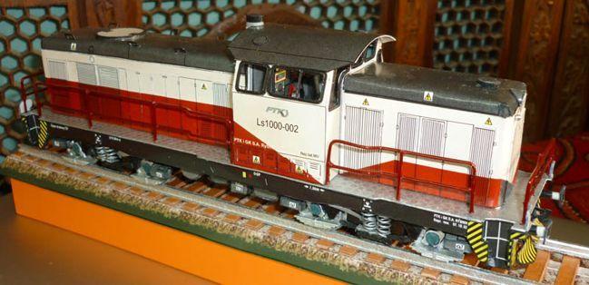 Lima LS 1000 Locomotive Free Train Paper Model Download