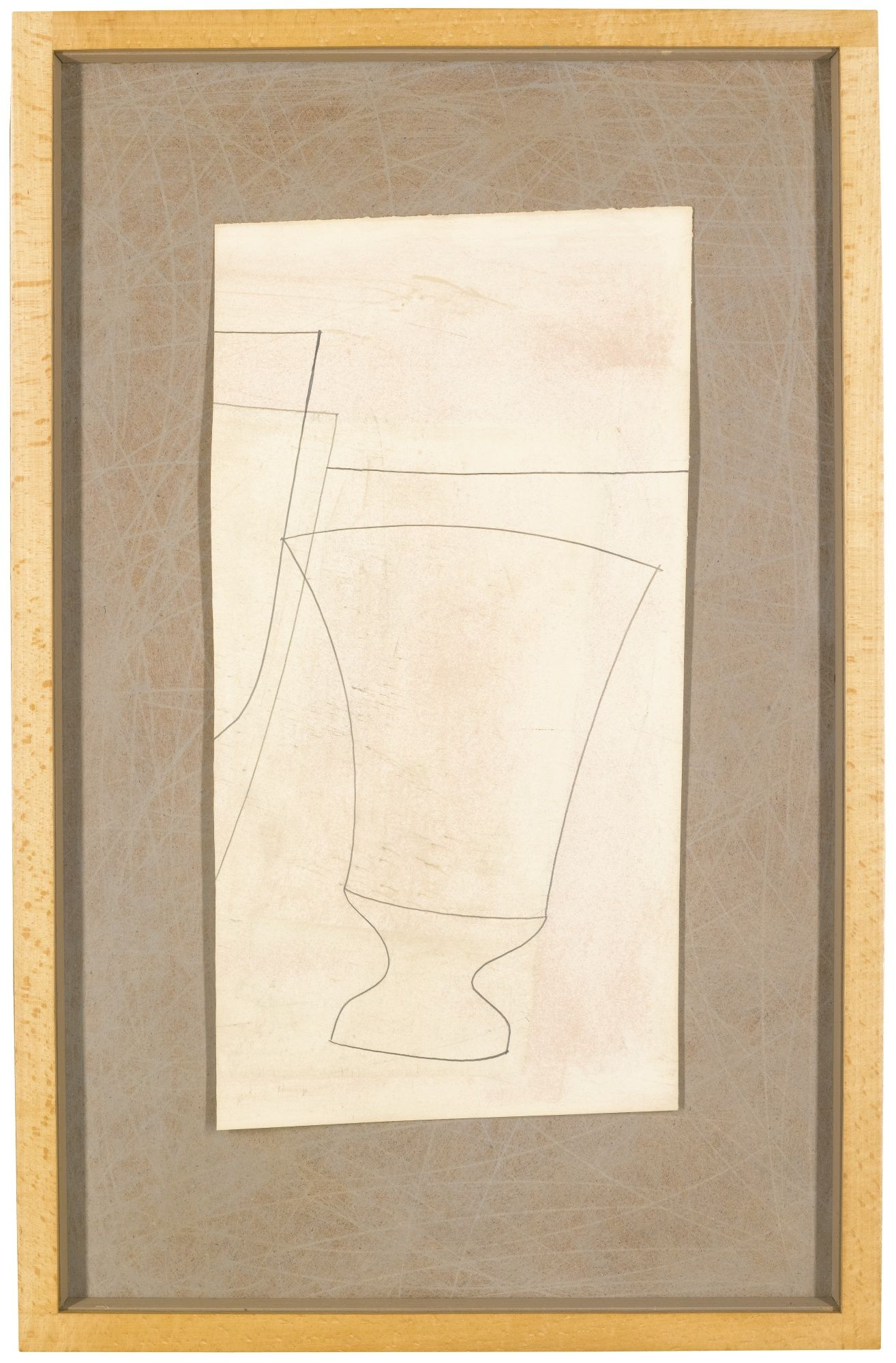 Lot | Sotheby\'s Ben Nicholson, note frame | Frames, mounts and hangs ...