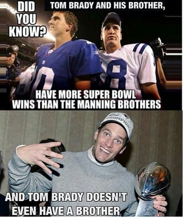 Tom Brady Is Better Than Peyton Manning And Eli Manning