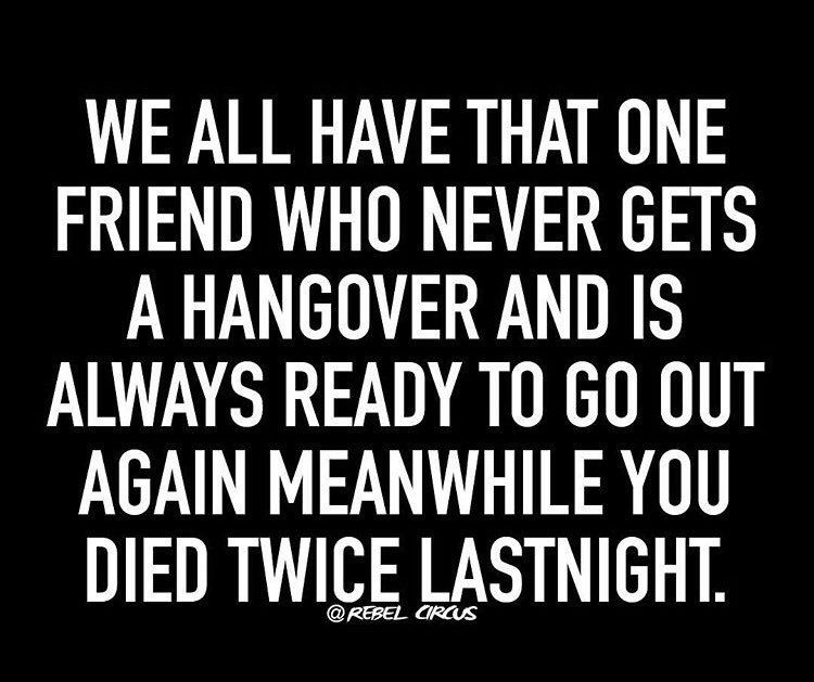 ...or 'is' that friend. ;)