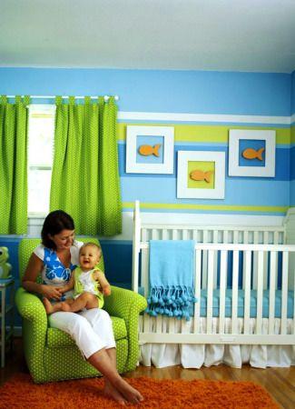 Decoraci n de dormitorios para ni os ideas children 39 s for Decoracion pared bebe nino