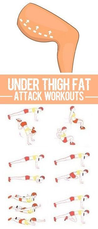 10 Most Effective Exercises To Reduce Under Thigh Fat - Page 2 of 4 #work
