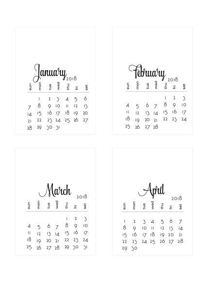 2018 diy calendars decorate it yourself calendario 2018 2018 diy calendars decorate it yourself scrappystickyinkymess solutioingenieria Images