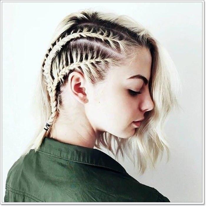 97 Interesting Braids For Short Hair 2019 Hair Styles Braids For Short Hair Short Hair Styles