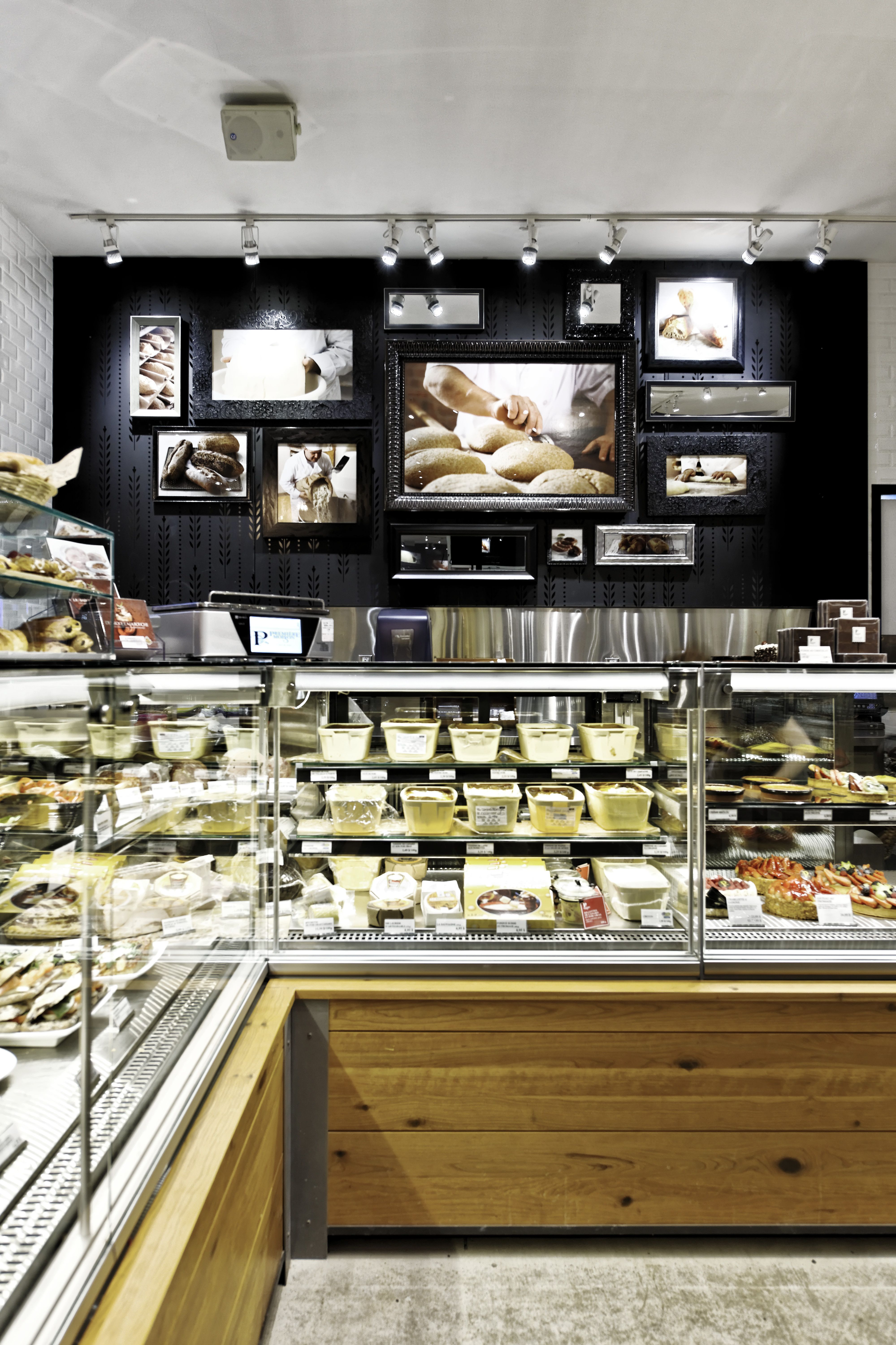 Lemaymichaud premi re moisson qu bec architecture for Bakery shop decoration ideas