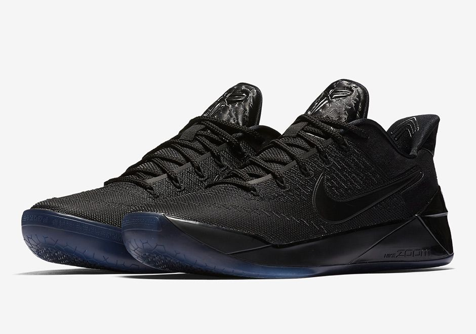 Nike Kobe AD Triple Black 852425 064 in 2020 | Kobe sneakers