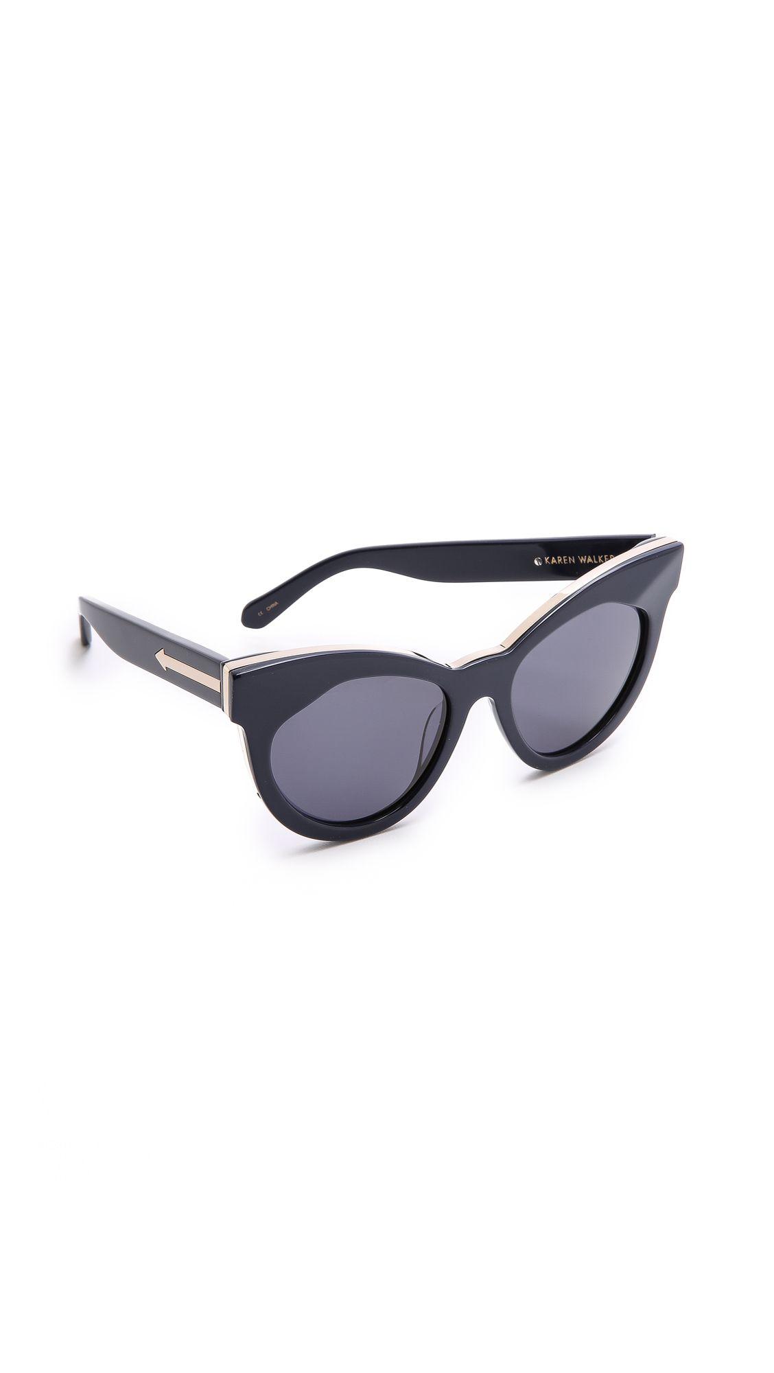 3e9633df5576 Number One 太阳眼镜 | Accessories | Karen walker sunglasses ...